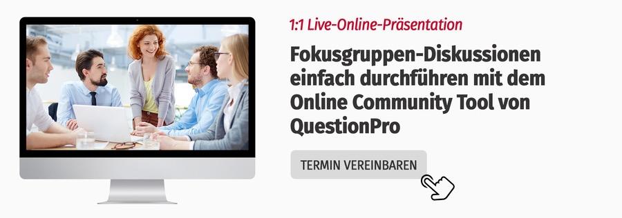 Online Community Fokusgruppe