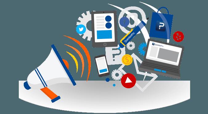 Positives Umfragefeedback in Sozialen Medien teilen
