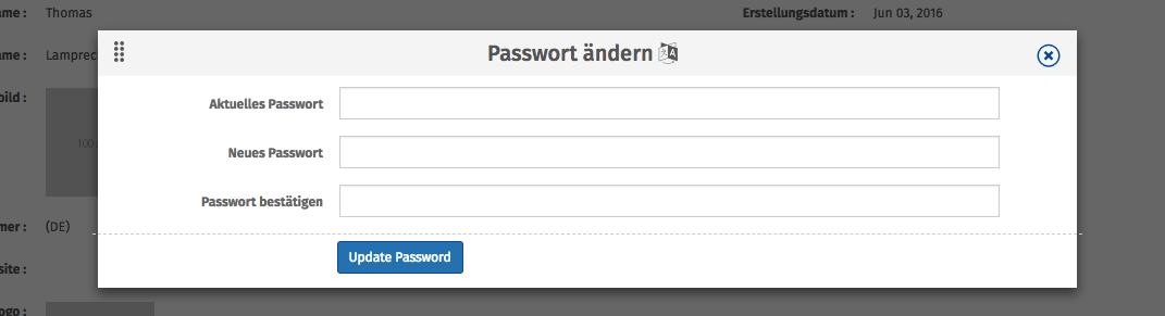 Passwort Maske
