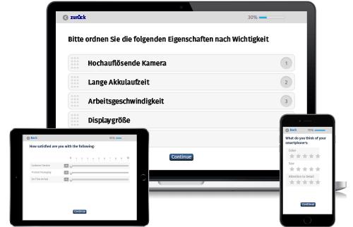 Umfrage Software Online Umfrage erstellen auswerten