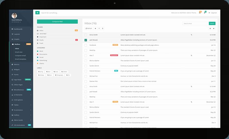 Le système de messagerie intégré permet un travail collaboratif facile et fluide.