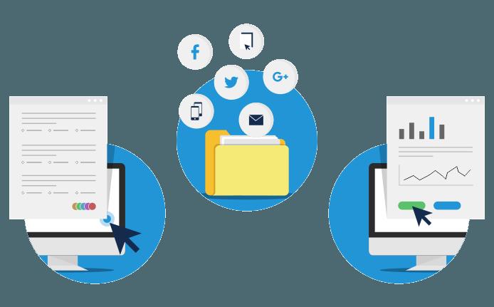 Distribution d'enquêtes en ligne et sondage hors ligne