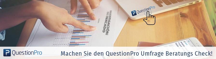 Online-Umfrage ausgefüllt und versendet. Und was passiert dann?