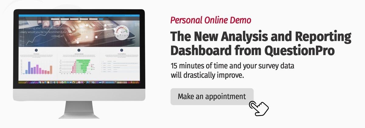 QuestionPro Analysis Dashboard