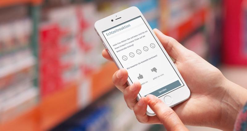 Echtzeit-Reaktion auf Kundenfeedback