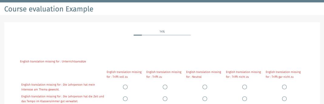 Mehrsprachige Online Umfrage erstellen
