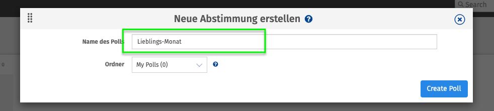 Alat za anketu uživo Glasovanje za glasovanje