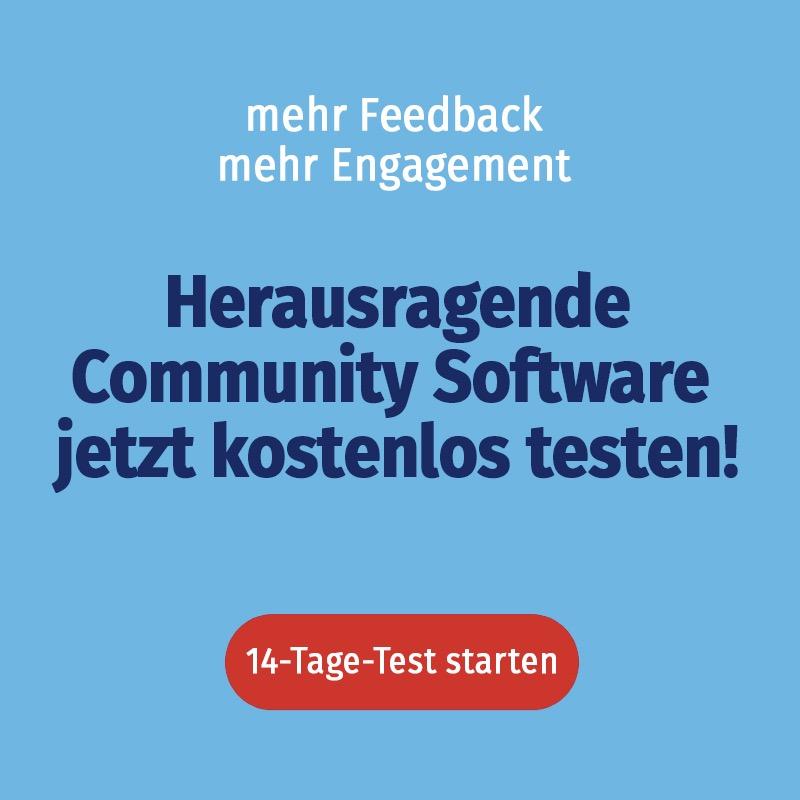 Community Software kostenlos testen