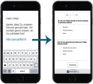 SMS Umfrage durchführen