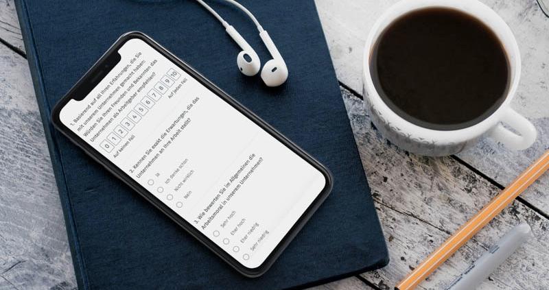 SMS Umfrage versenden und durchführen - QuestionPro