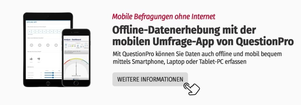 Umfrage App von QuestionPro