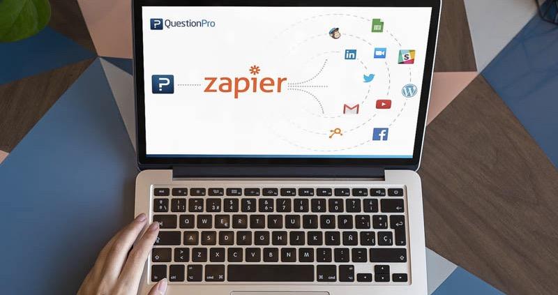 Zapier Prozessautomation Workflow Online Umfrage