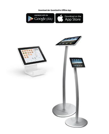 Teilnehmerbefragung mobil durchführen und Teilnehmerfeedback erfassen mit Terminals oder Feedback App