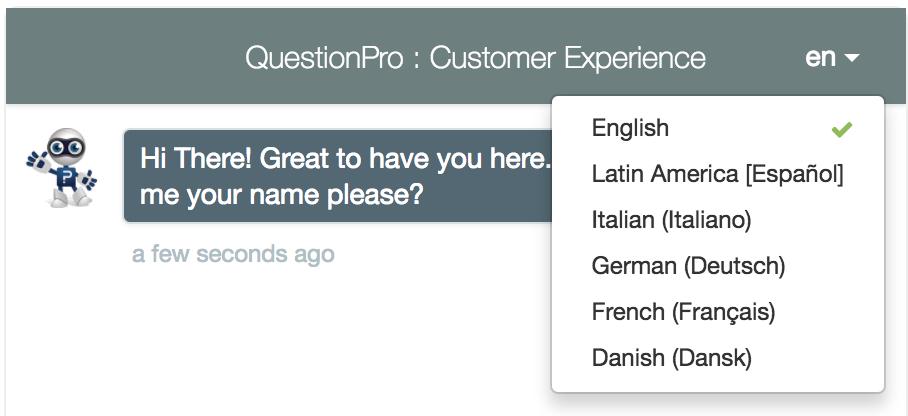 Umfrage im Chat-Stil durchführen