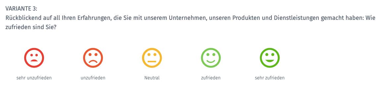Customer Satisfaction Score Smiley CSAT