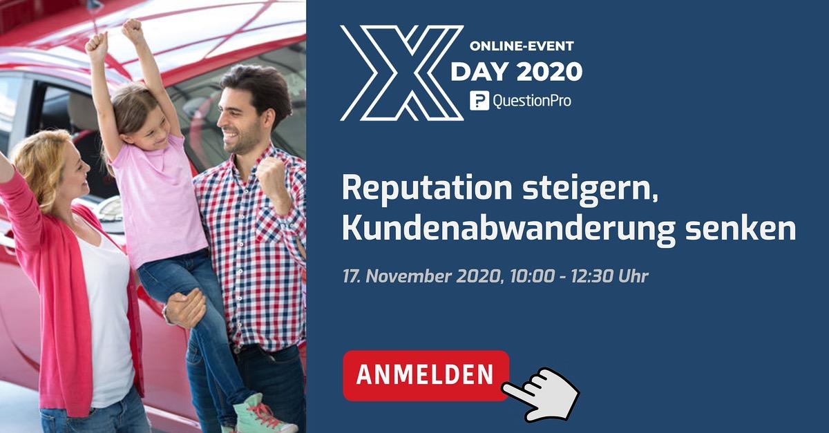 Marktforschung News: Xday im November 2020