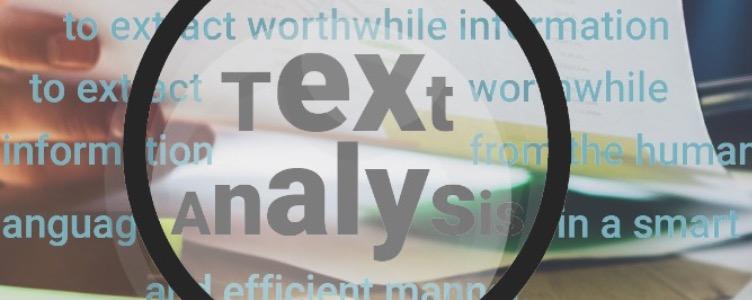 Neue Trends in der Textanalyse
