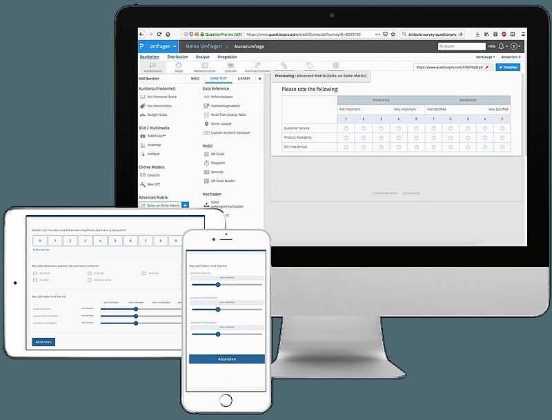 Create Online Surveys with QuestionPro Survey Software ans Tools