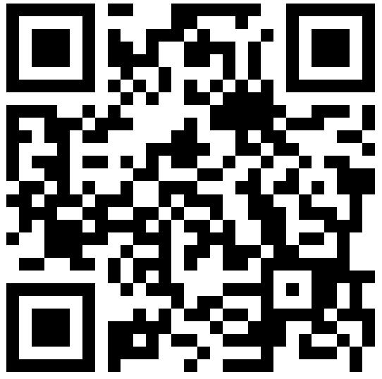QR code to a customer survey to gather customer feedback